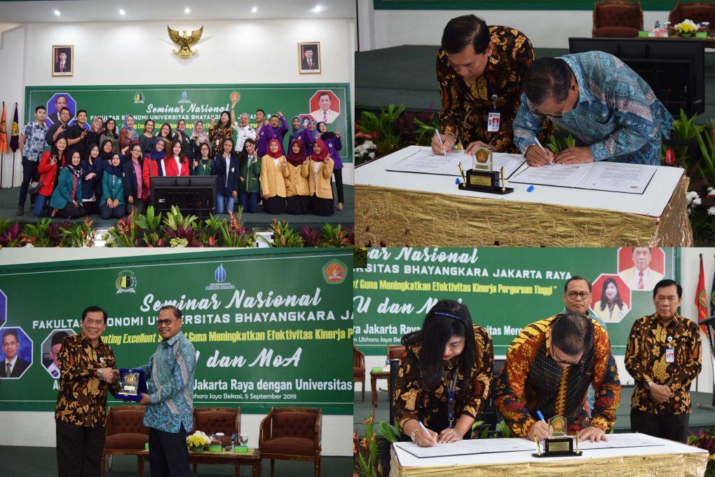 Seminar Nasional Ubhara Jaya: Dosen dan Mahasiswa Excellent Sebagai Ujung Tombak Kampus Unggulan