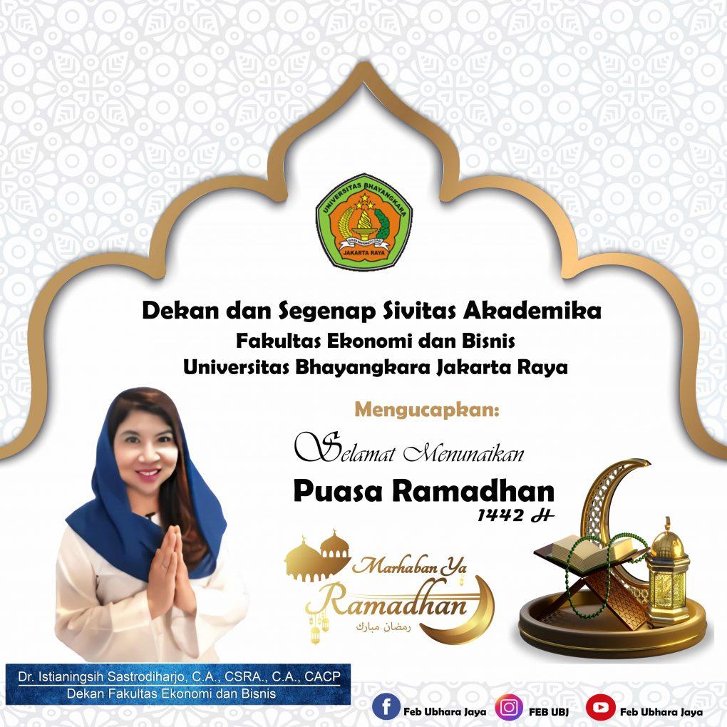Marhaban ya Ramadhan 1442 H